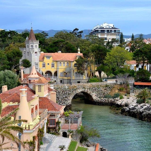 Лиссабон: прогулка у моря. Мост 25 апреля — статуя Христа — мыс Рока