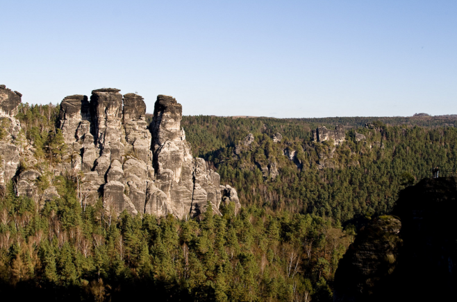 Саксонская Швейцария: замок Кёнигштайн + гора Бастай + замок Везенштайн