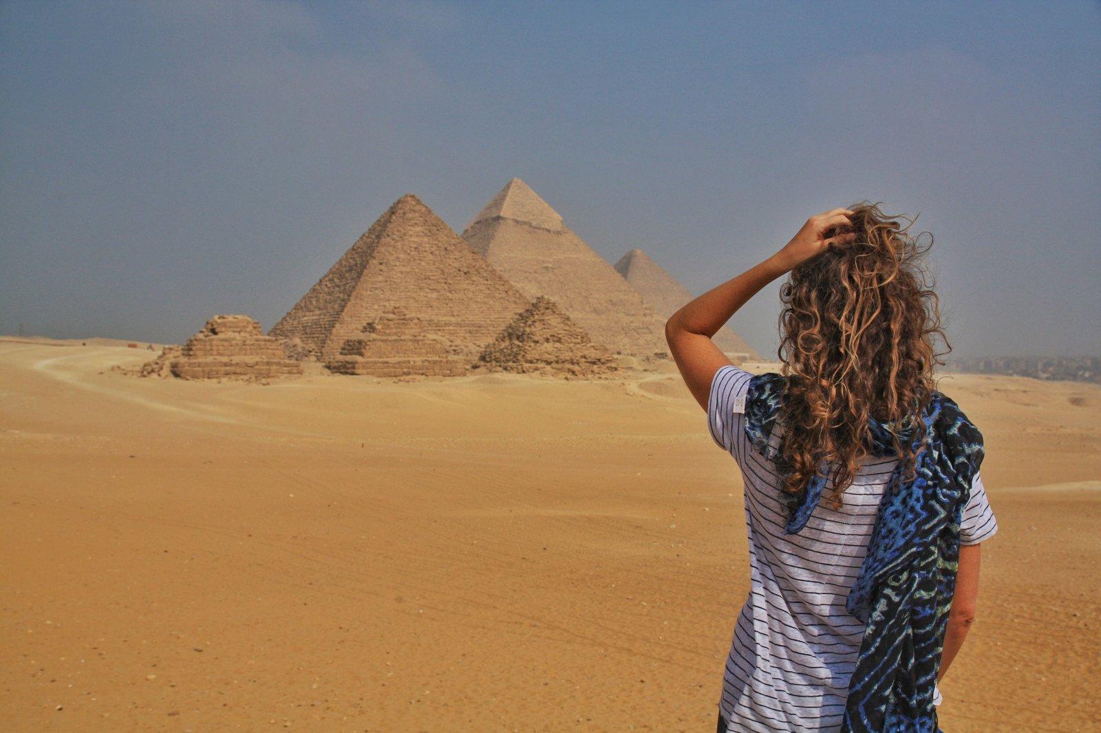 Мини-Каир на автобусе (Гиза: пирамиды и Сфинкс)