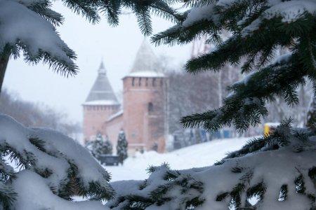 Очарование зимнего Смоленска
