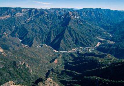 Медный Каньон — горная цепь Тараумара