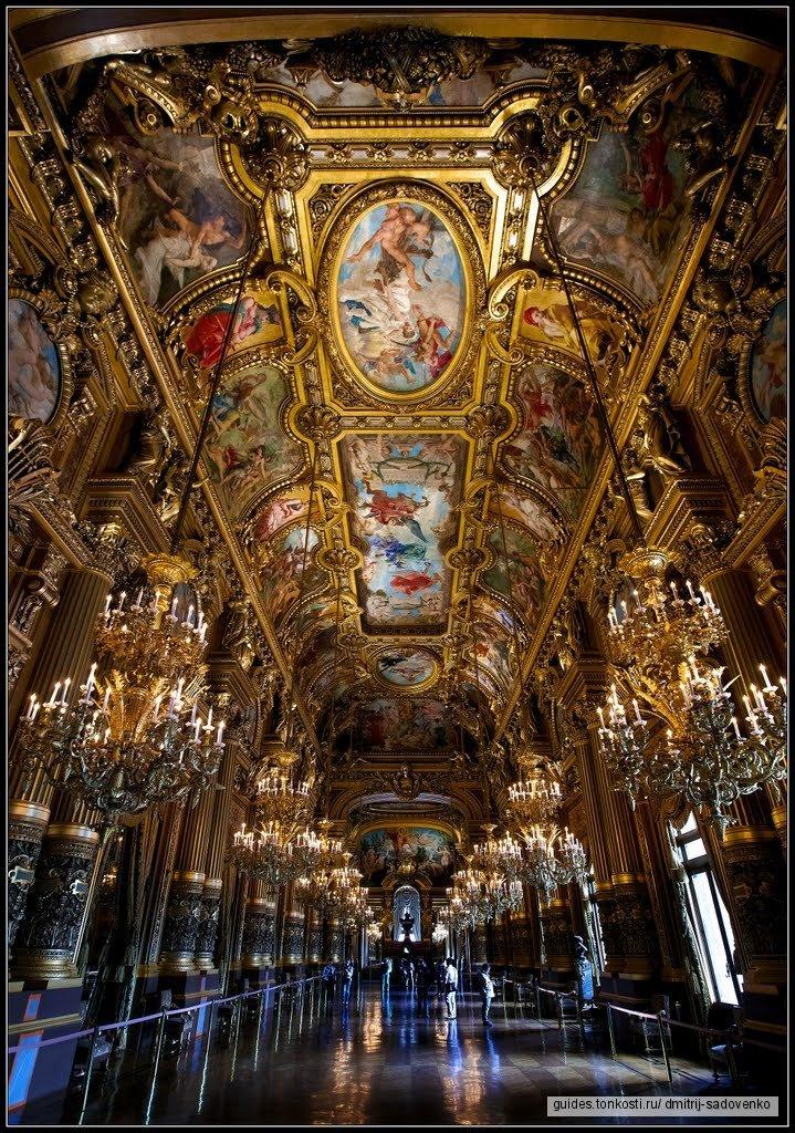 «Претендую на много, надеюсь мало» Опера Гарнье/Grand Opera