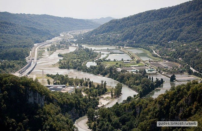 Смелым дорога вперед... (Сплав по горной реке Мзымта + «Скайпарк»)
