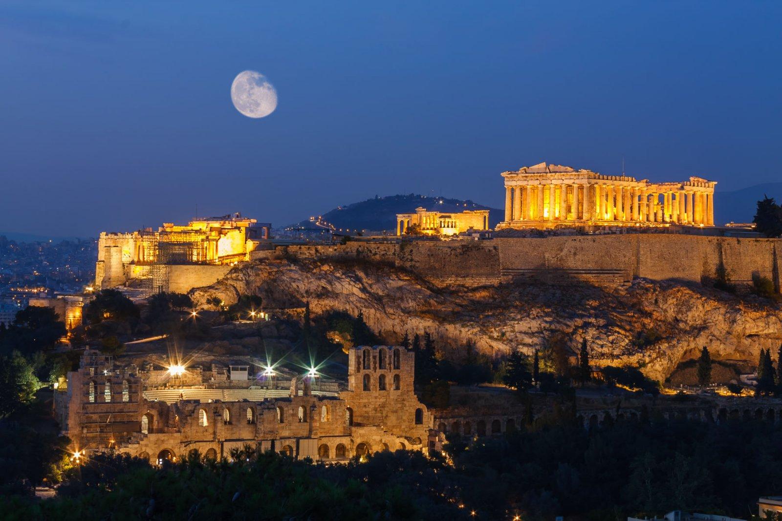 Афины с Крита на 1 день