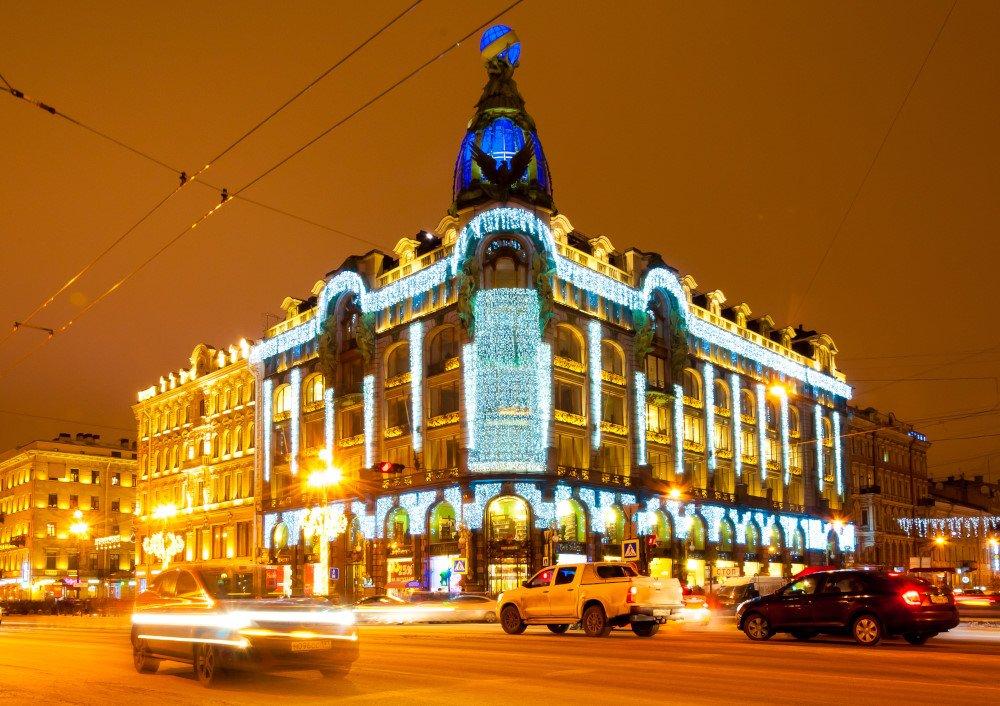 Новогодняя и Рождественская сказка Петербурга