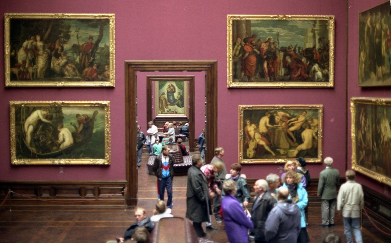Дрезденская галерея старых мастеров и фарфоровая мануфактура в Майсене