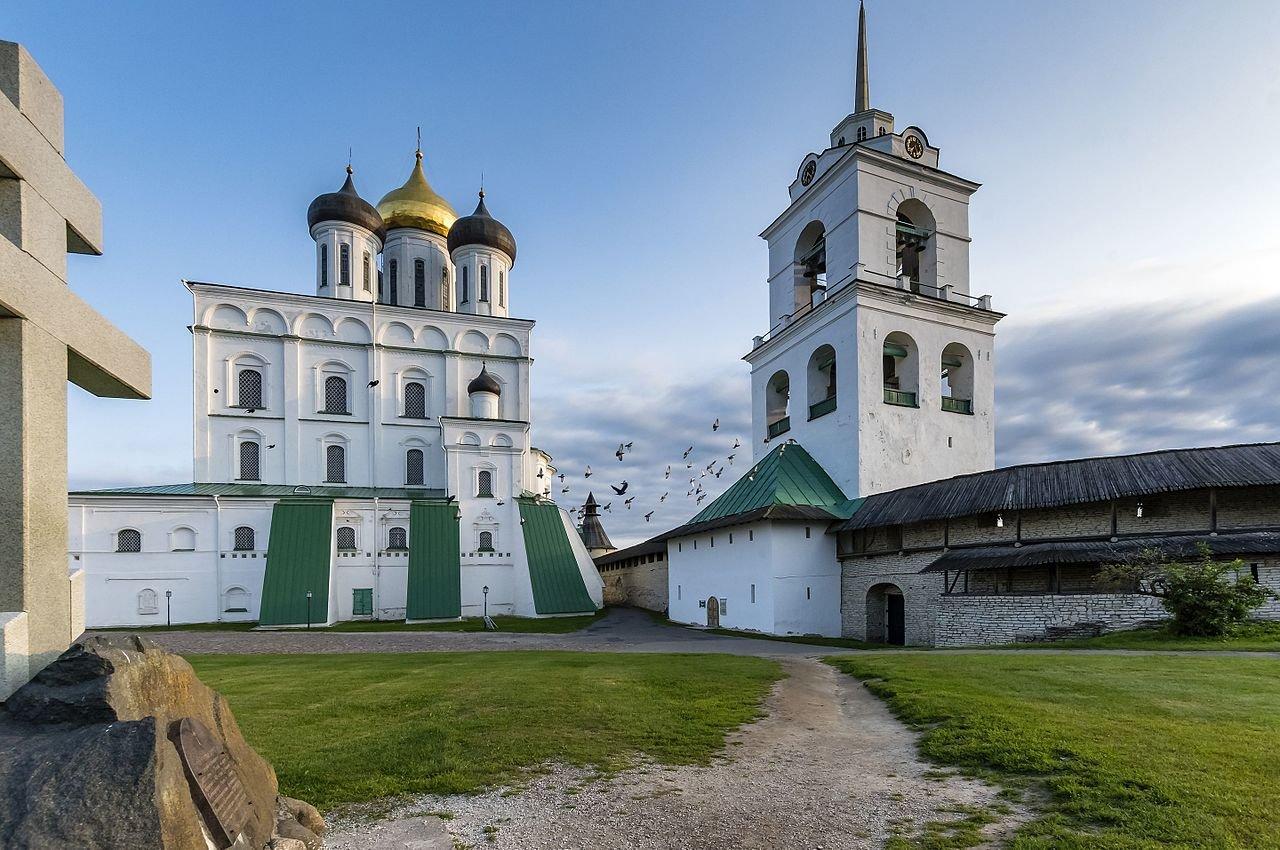 Город Псков Достопримечательности Фото