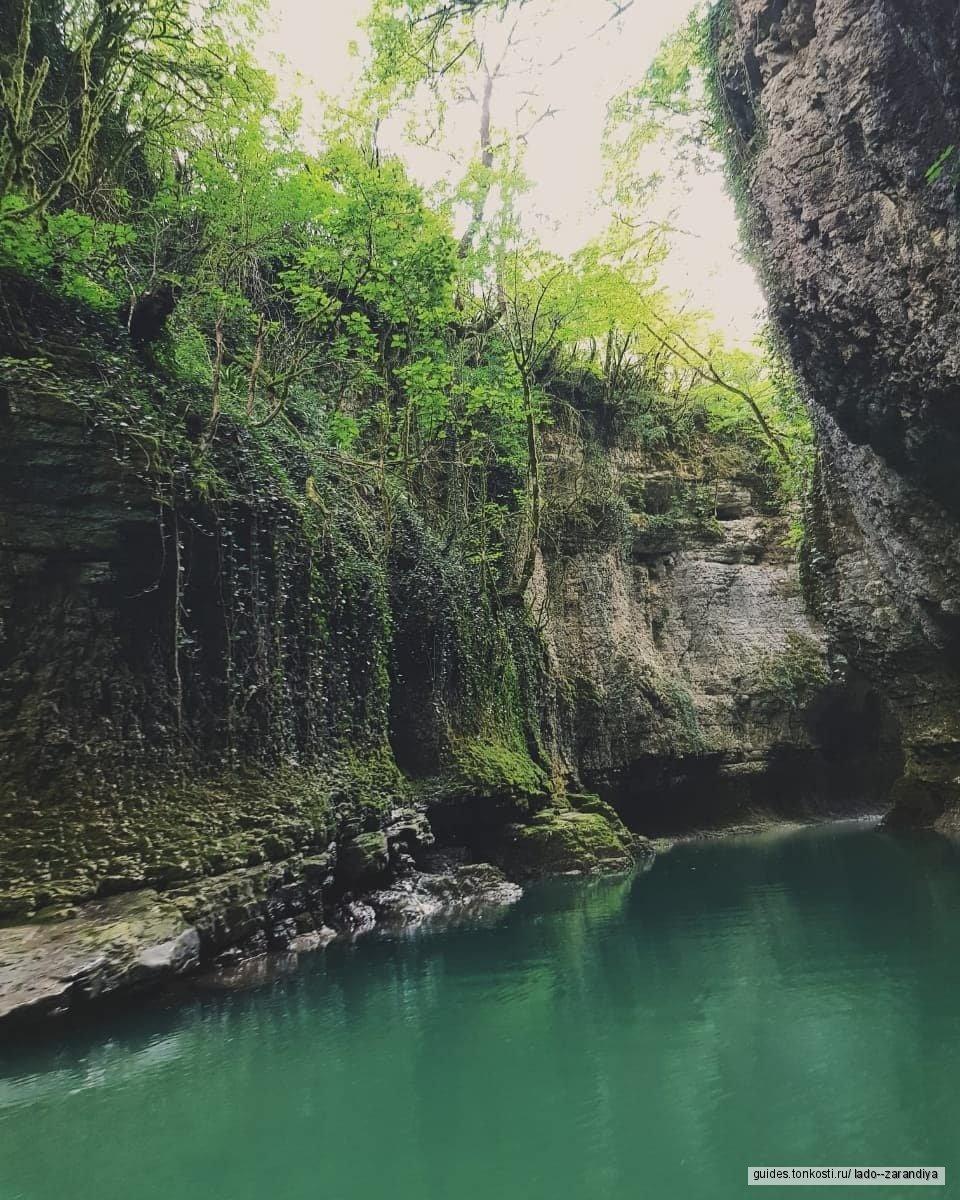 Мартвильский каньон, Нокалакеви (Грузинская Троя)