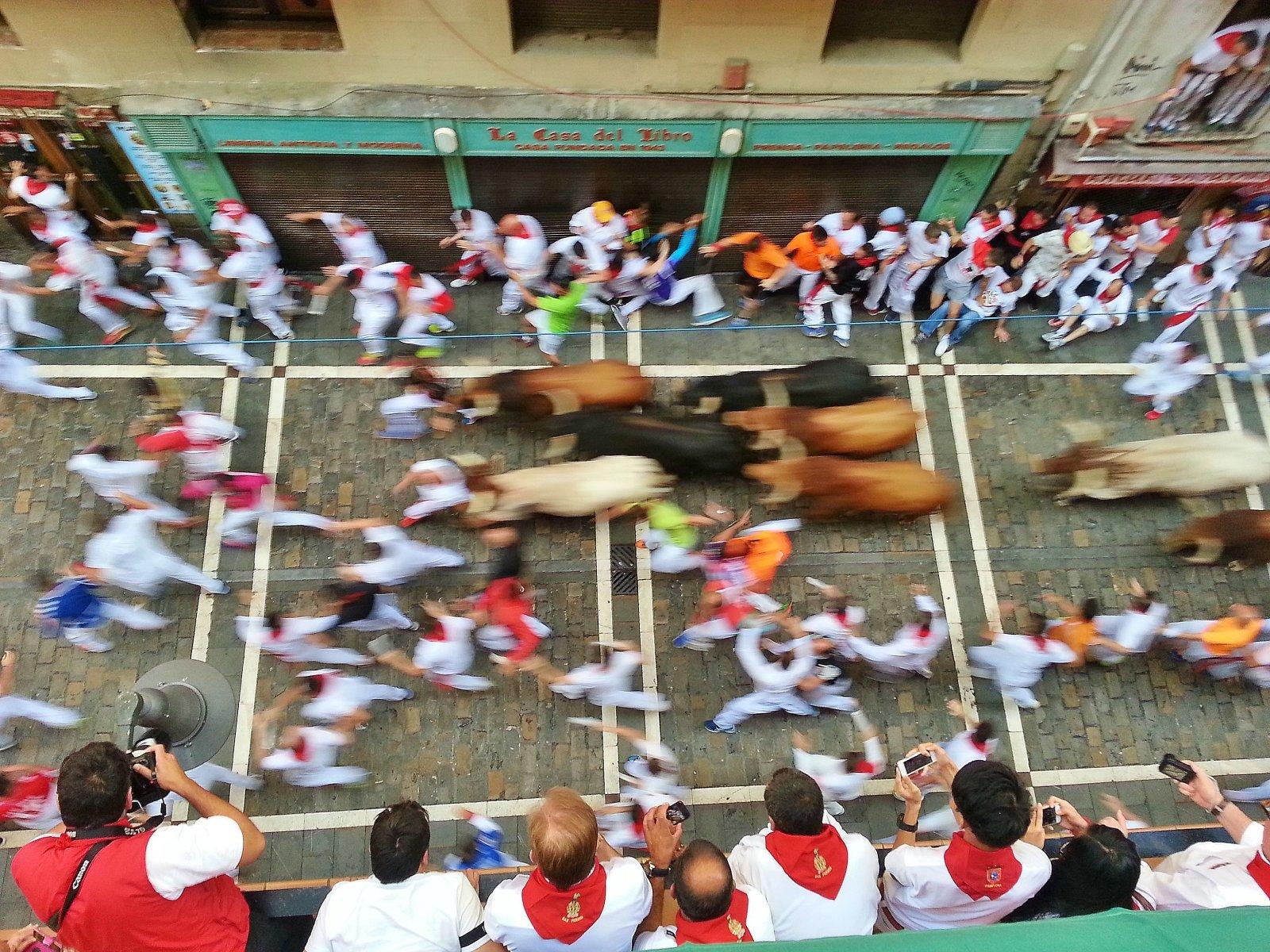 Праздник Сан-Фермин в Памплоне