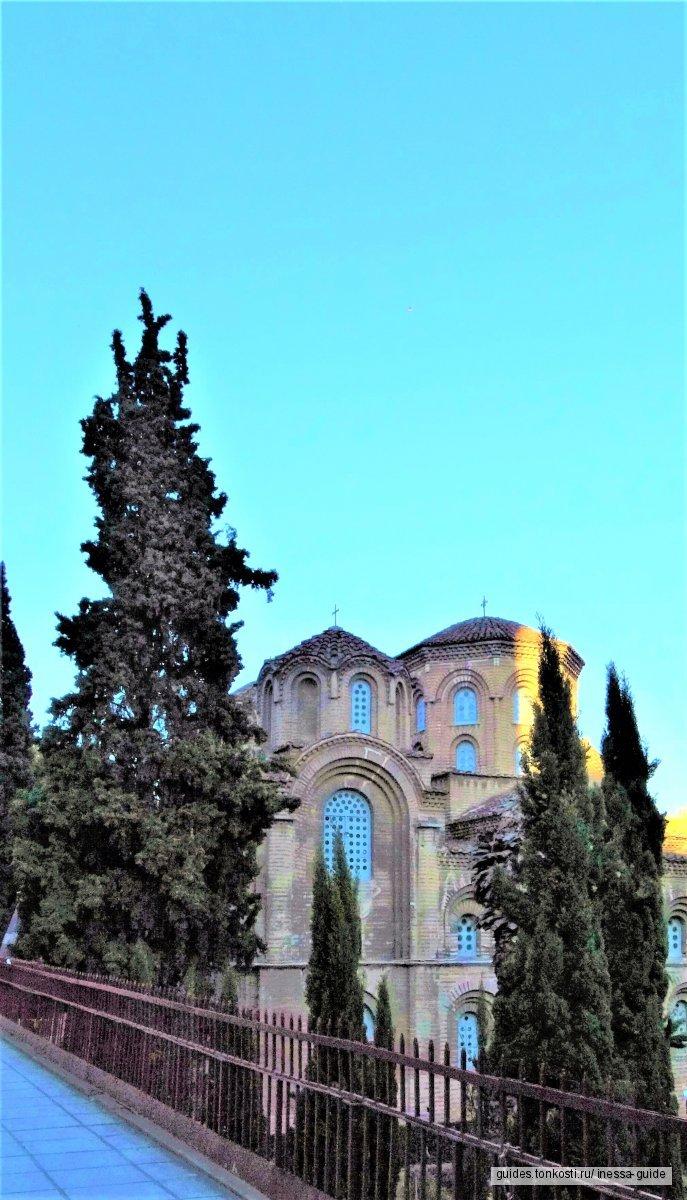 Христианские святыни в Салониках и Халкидиках. К Паисию Святогорцу и Анастасии Узорешительнице