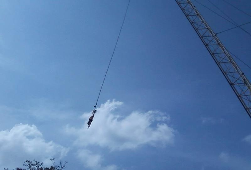 Тарзанка Bungy Jumping на Пхукете
