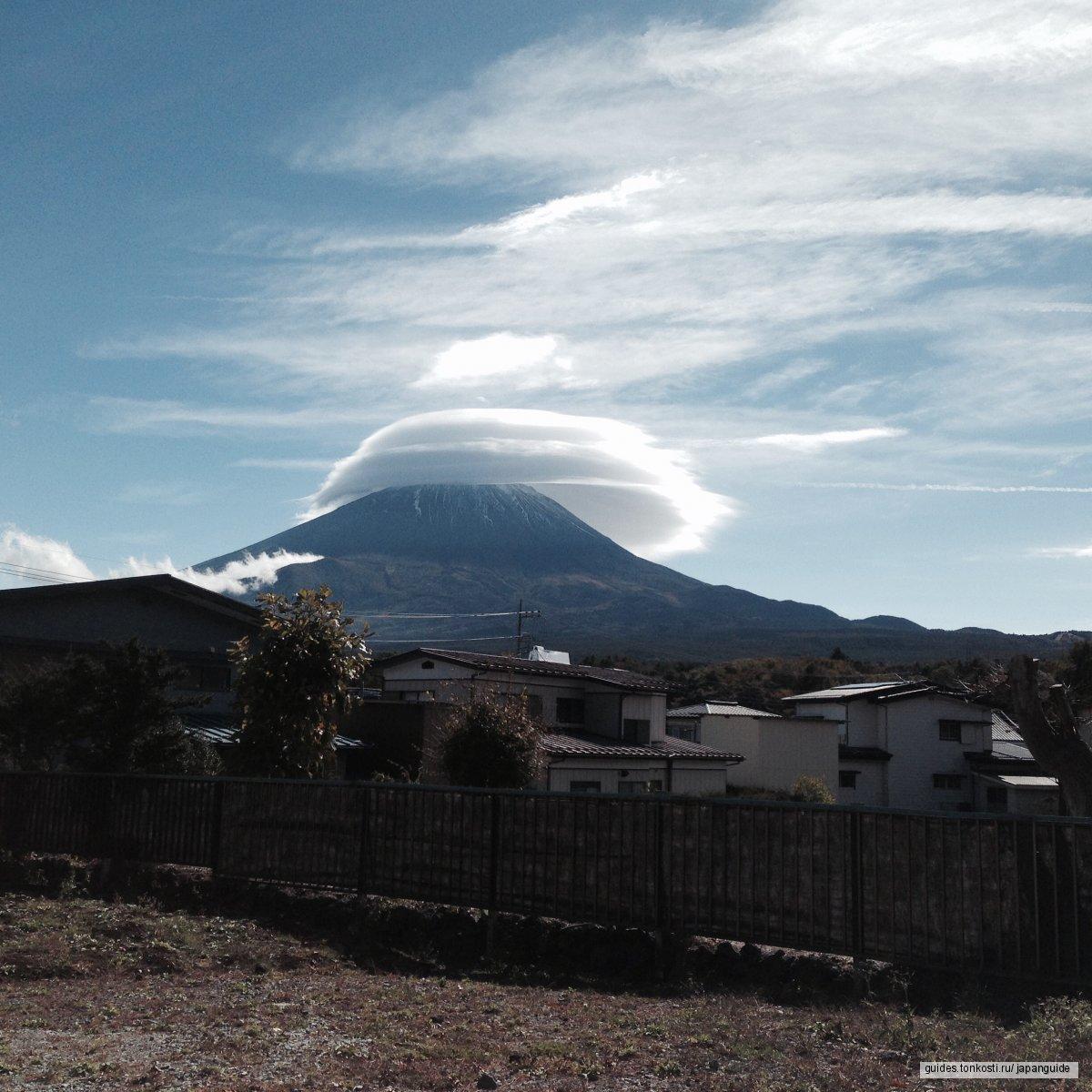 Священная гора Фудзи (3776 м)