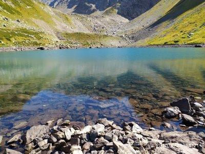 Озеро Семицветное — Архыз