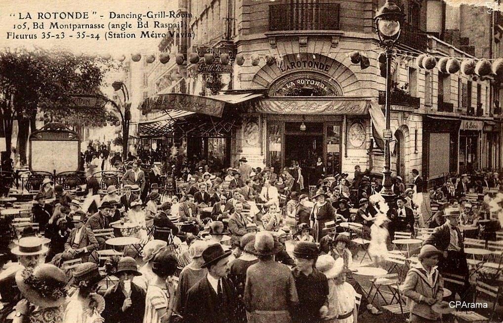 Квартал Монпарнас — «Безумные годы Парижа»