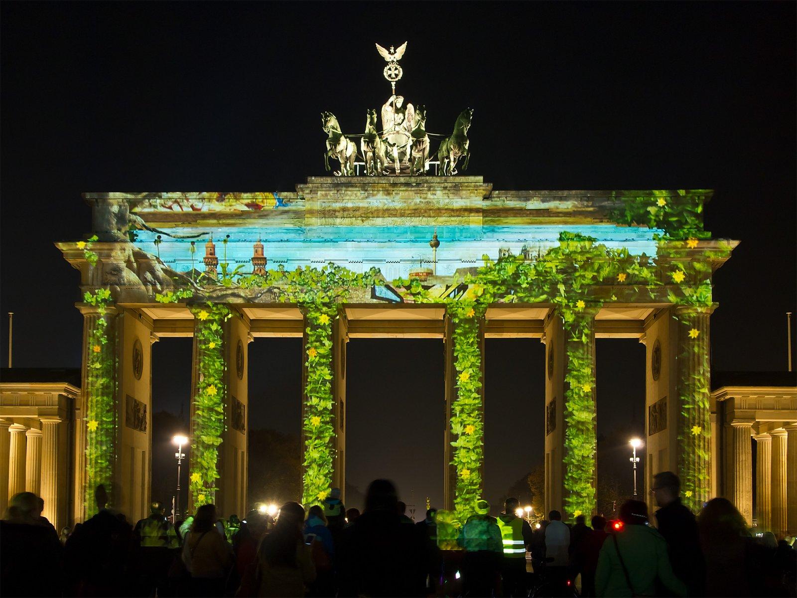 Магия вечернего Берлина