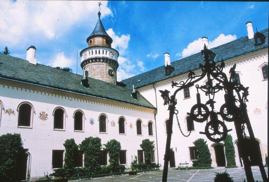 Из Праги в замок Сихров