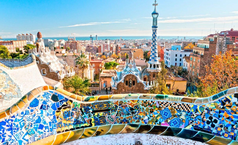 Барселона панорамная (с группой)