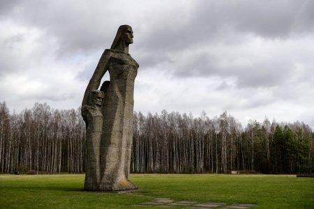 Саласпилсский мемориал жертвам фашизма