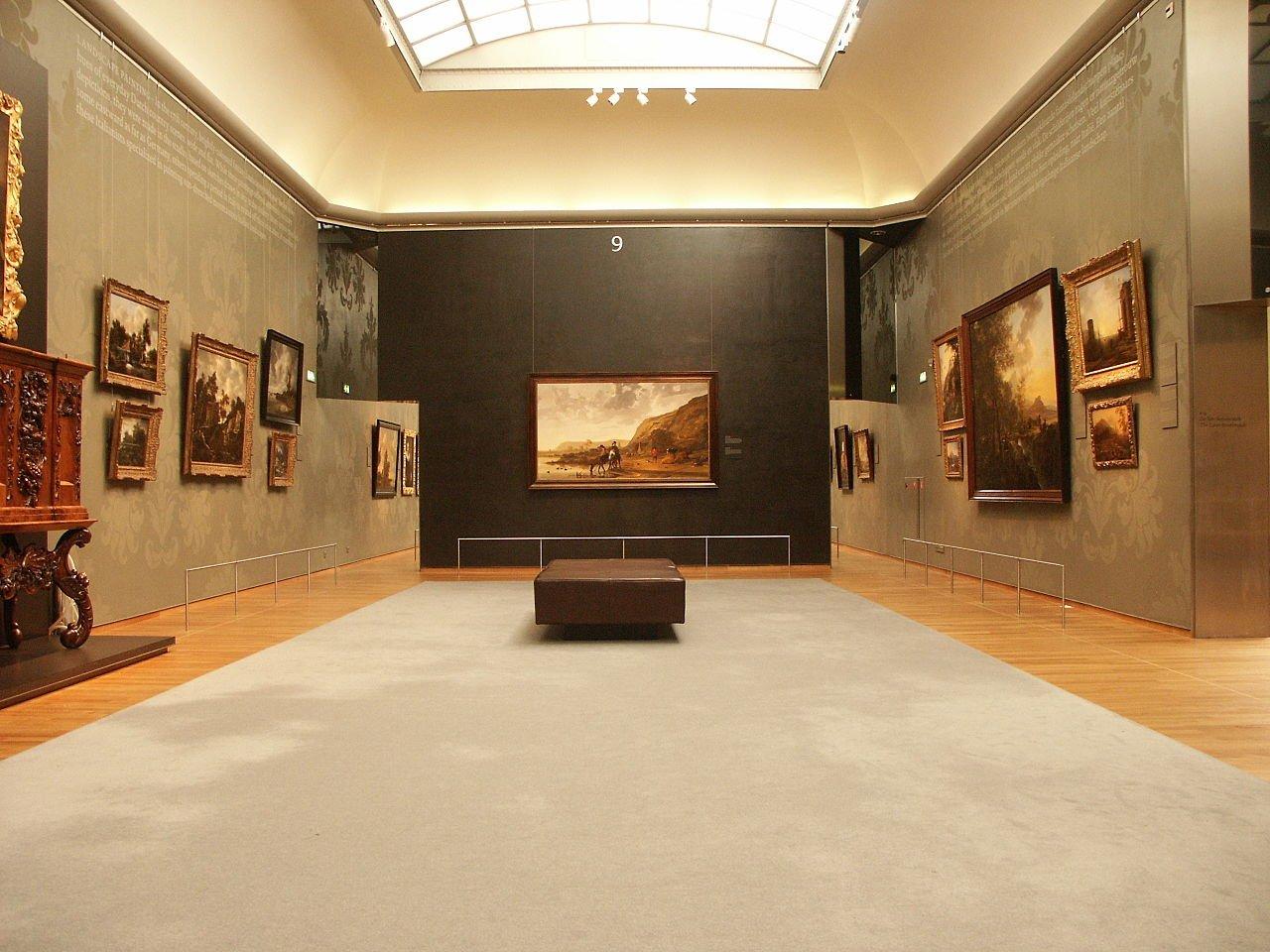 Государственный музей — «великие» и «малые» голландцы