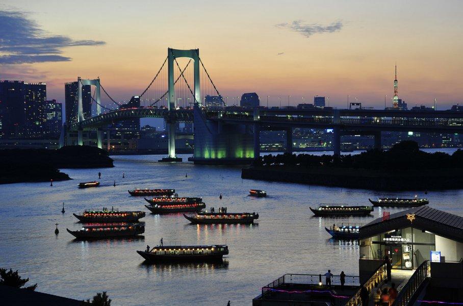 Токио. Город традиций и современных технологий. День 1