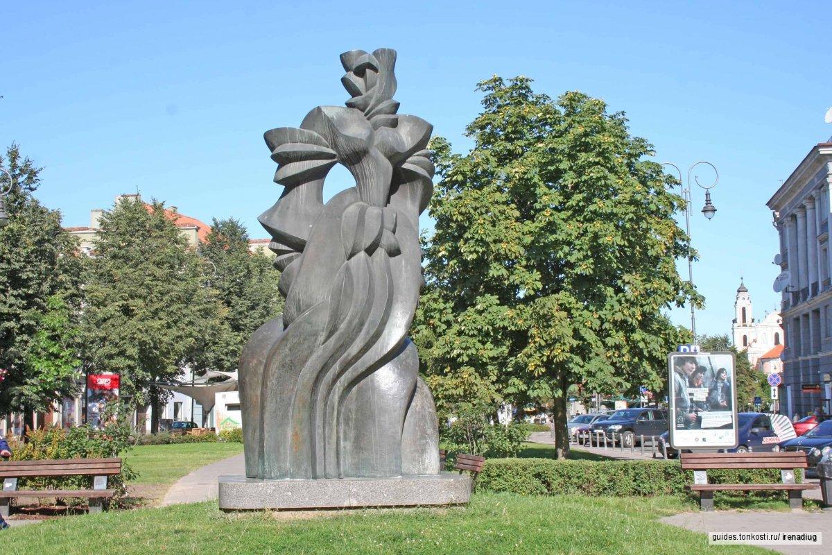 Романтическая экскурсия по Вильнюсу