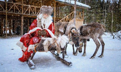 Подворье Зимнего Деда - ТалвиУкко
