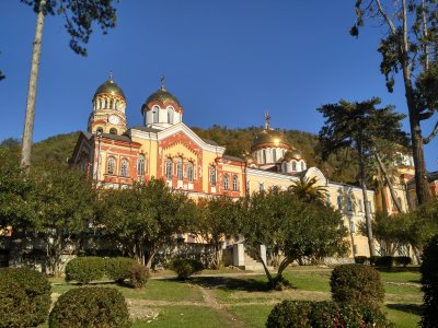 Рождественские праздники в Абхазии