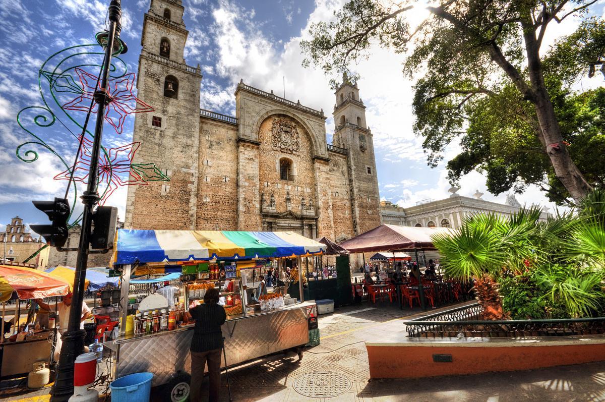 Юкатан: от рассвета до заката