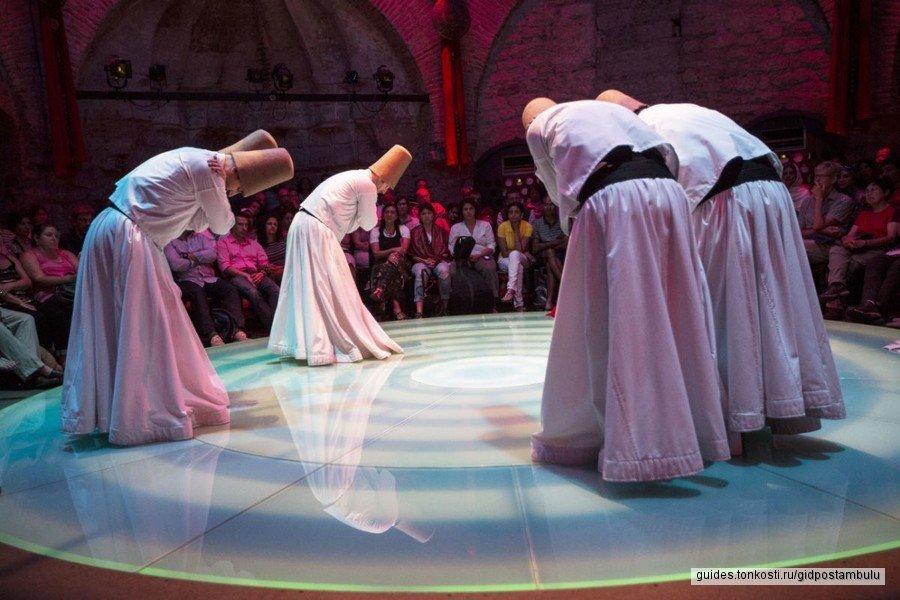 Театр Ходжапаша — танцы дервишей