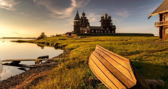 Остров Кижи из Петрозаводска