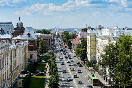 «Дворянская улица» Казани
