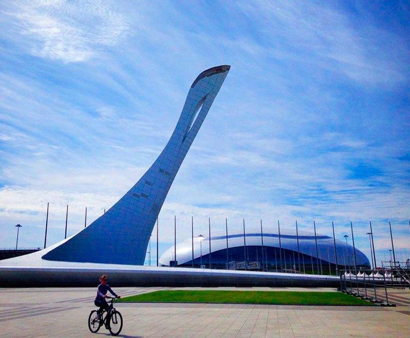 Прекрасная и удивительная Красная Поляна и Олимпийский парк