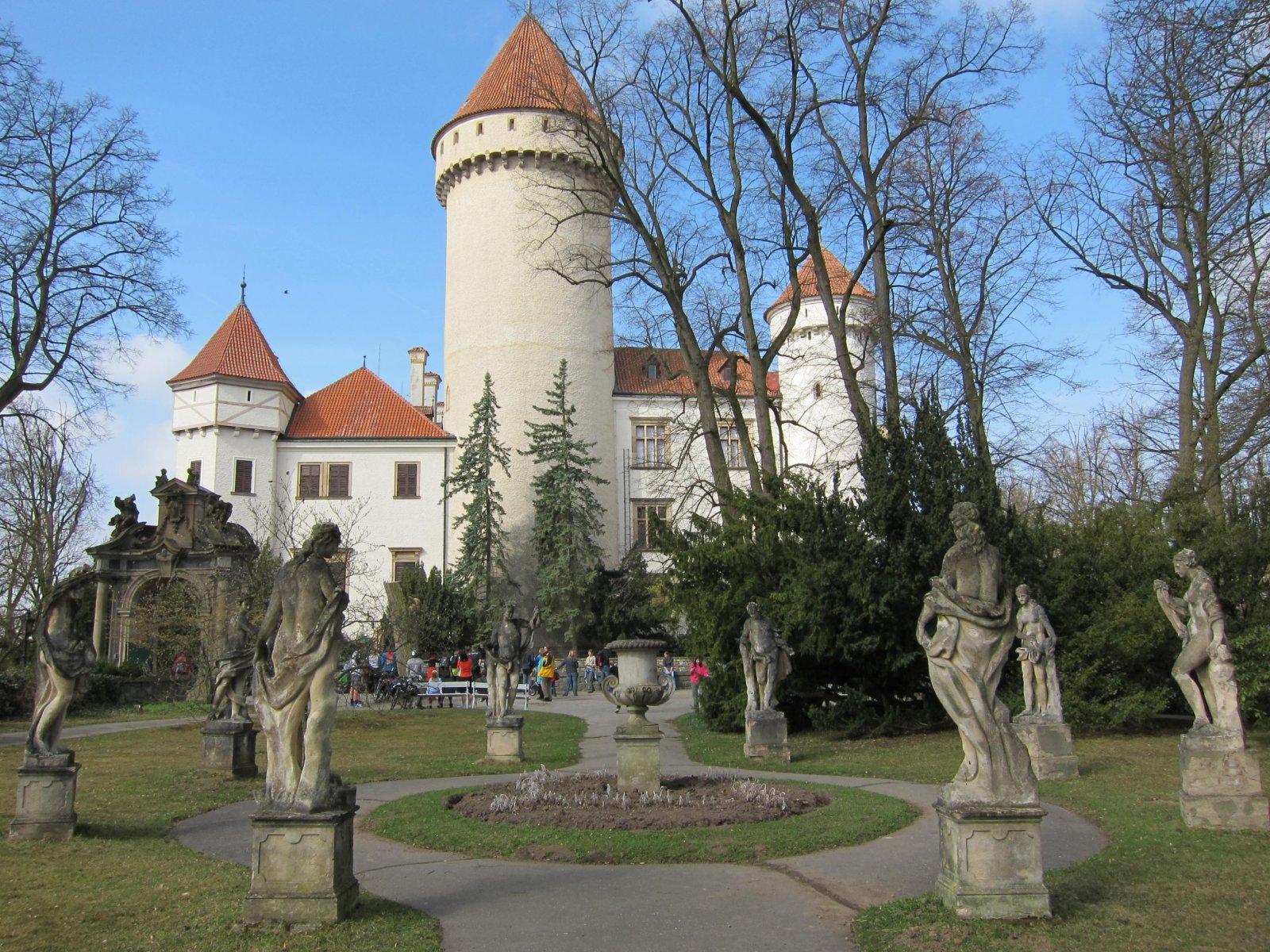 В гости к Францу Фердинанду — замок Конопиште