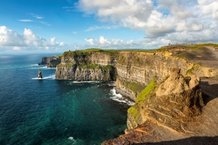 Ирландия с востока на запад
