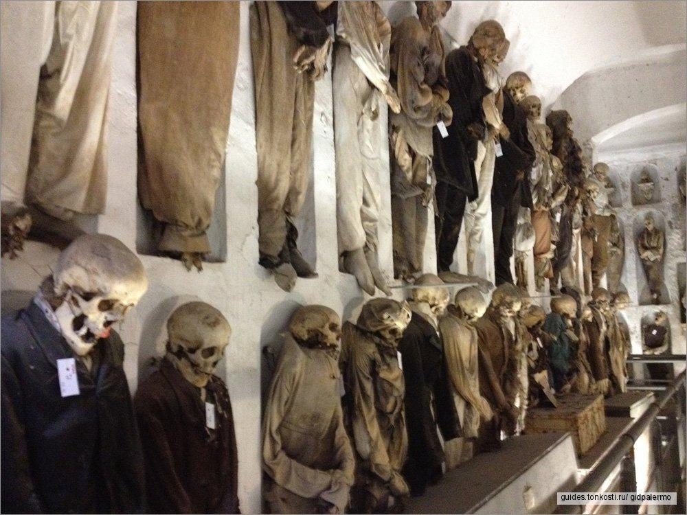 Катакомбы капуцинов — Музей мертвецов в Палермо