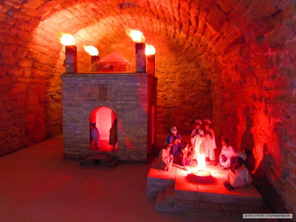 Индусский храм огня Атешгях