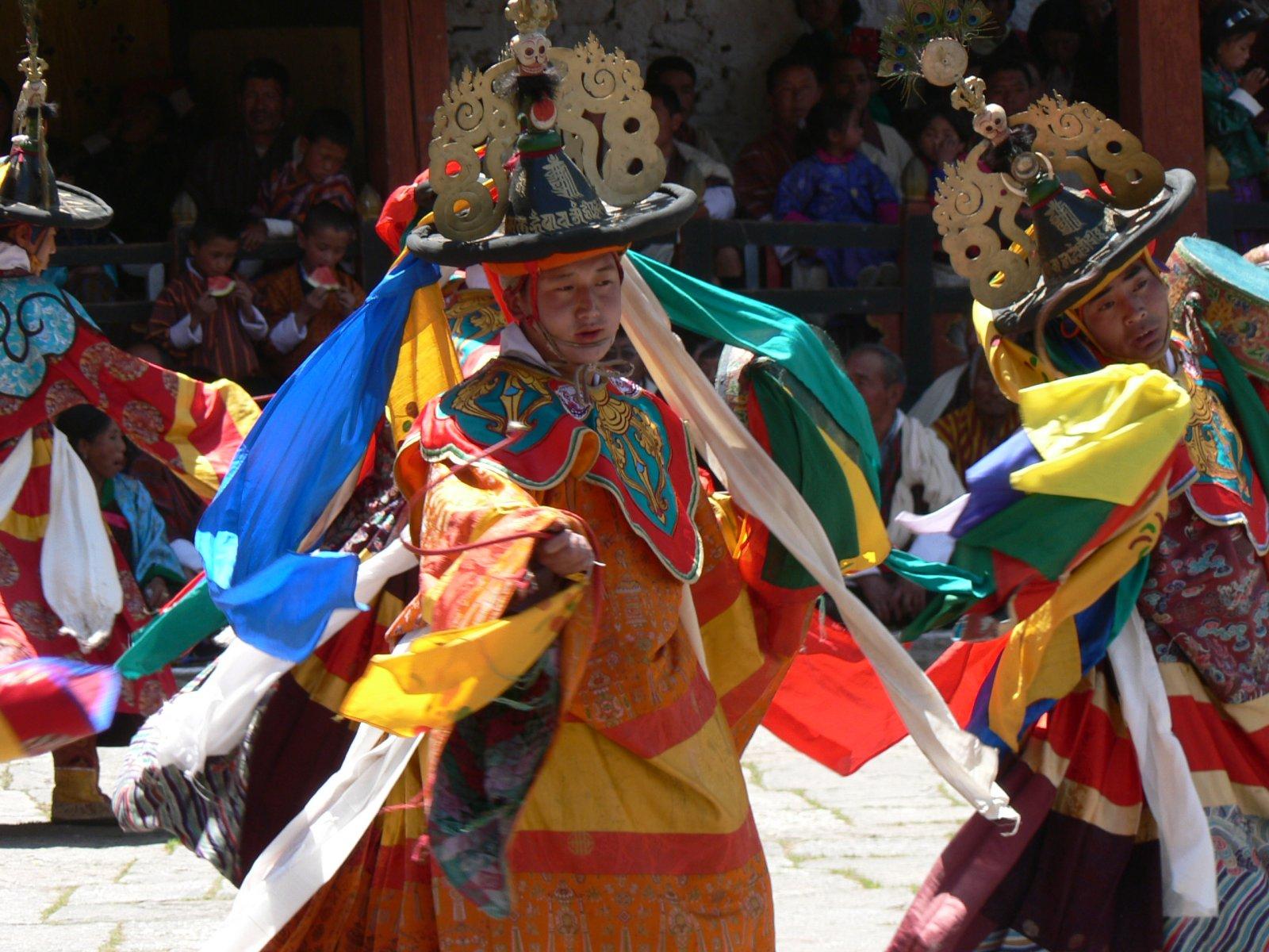 Фестиваль «Тамшинг Фала Чхоепа» (Tamshing Phala Chhoepa) в Бутане