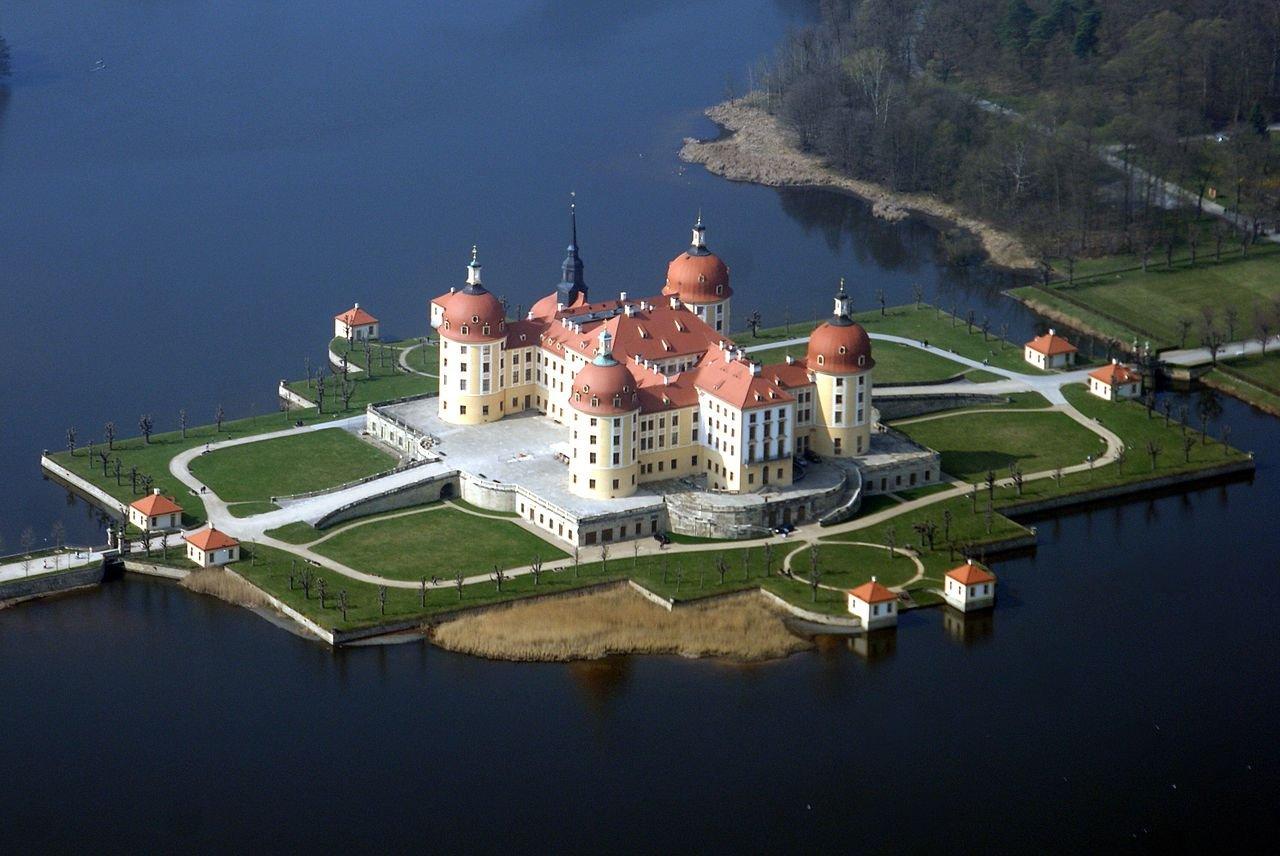Экскурсия в Морицбург. Королевский охотничий замок