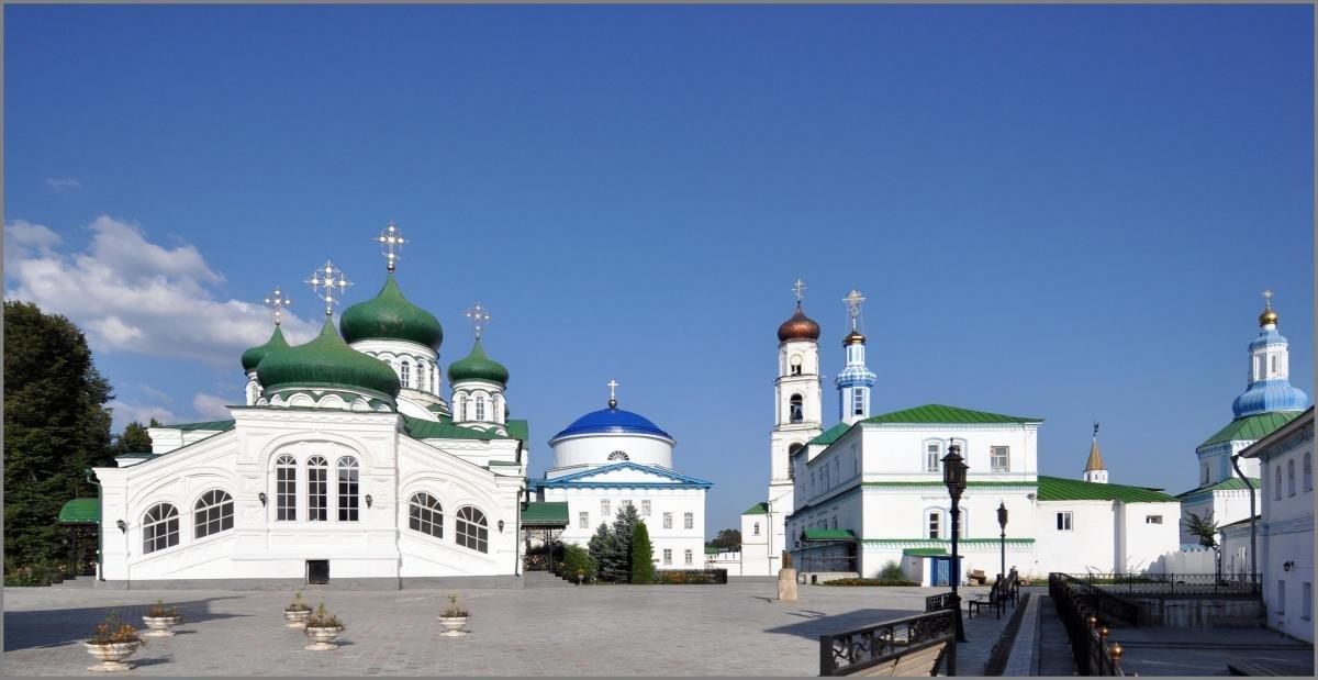 Раифский Богородицкий мужской монастырь+Храм Всех Религий