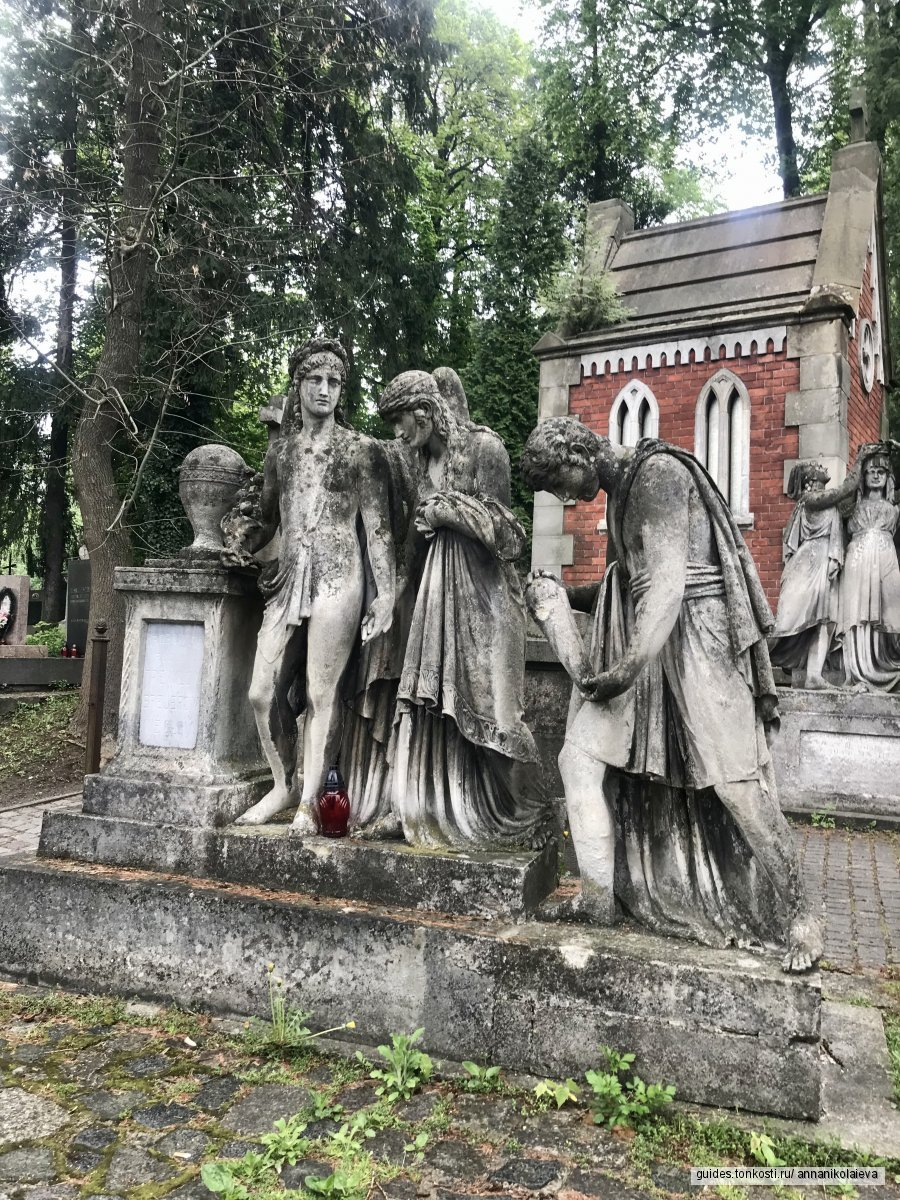 Прогулка по Лычаковскому кладбищу