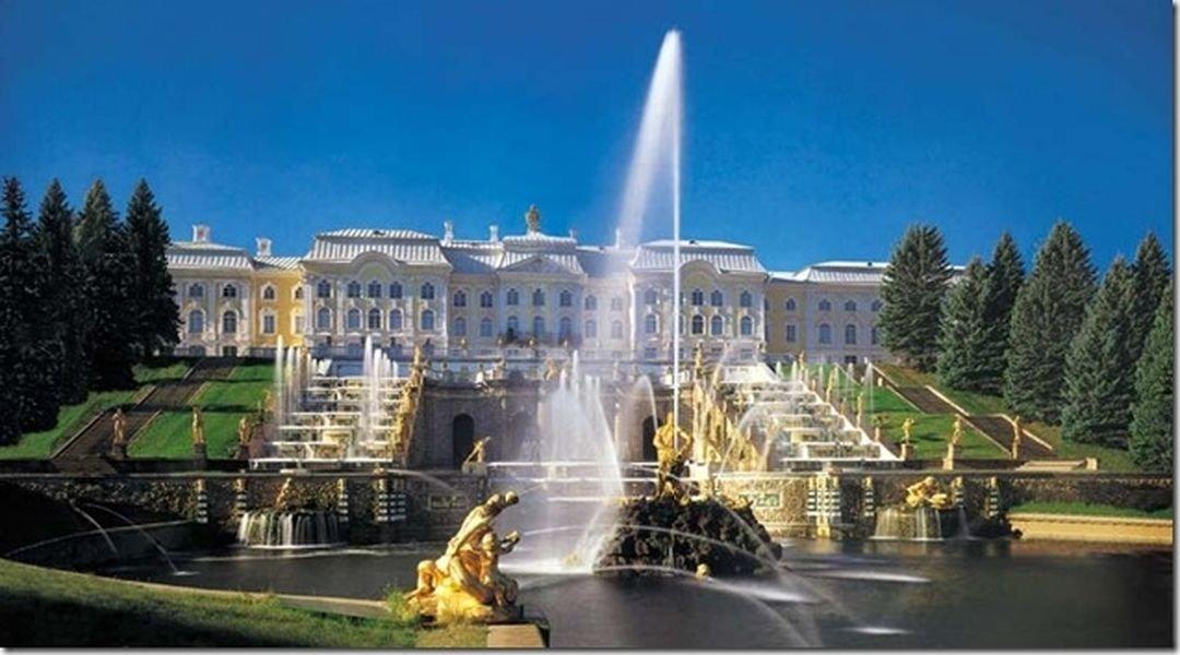 Петергоф — приморская резиденция Петра I