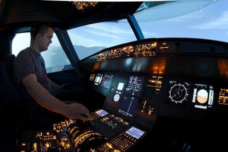 Авиасимуляторы  Airbus A320  и  Boeing B737