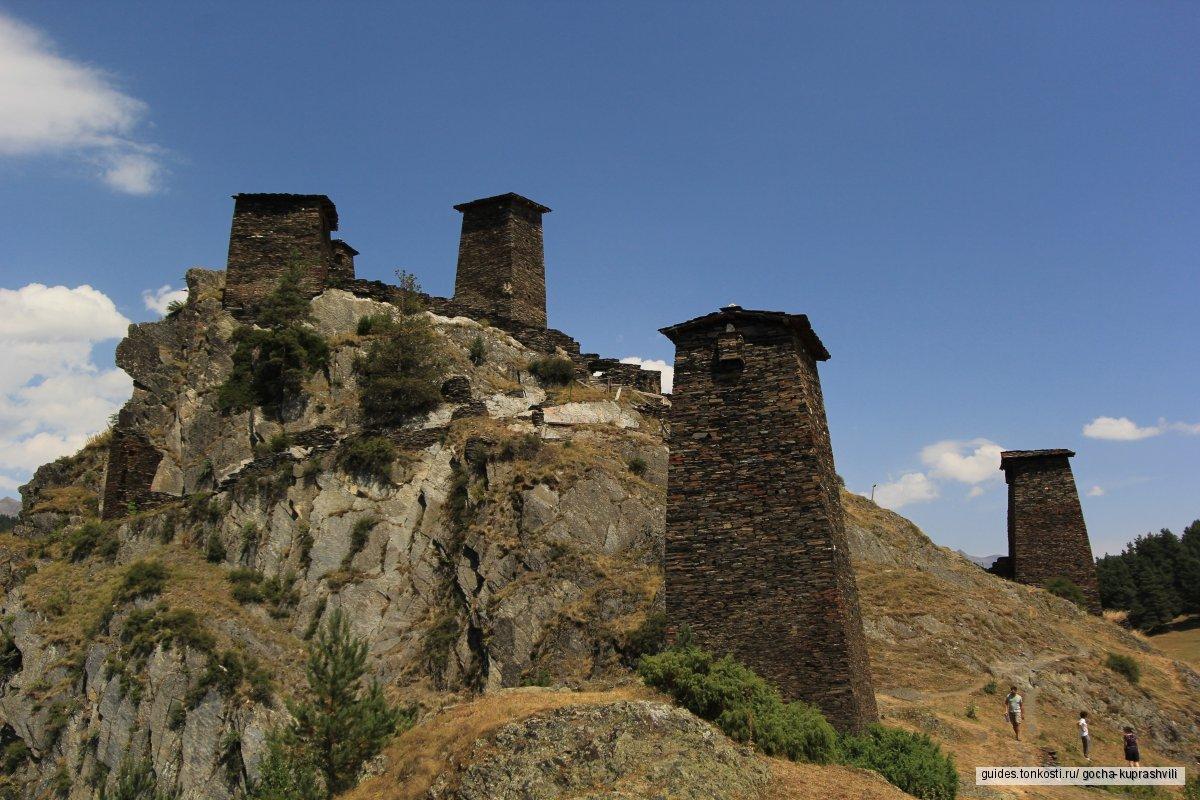 Тбилиси — Омало, Тушетия