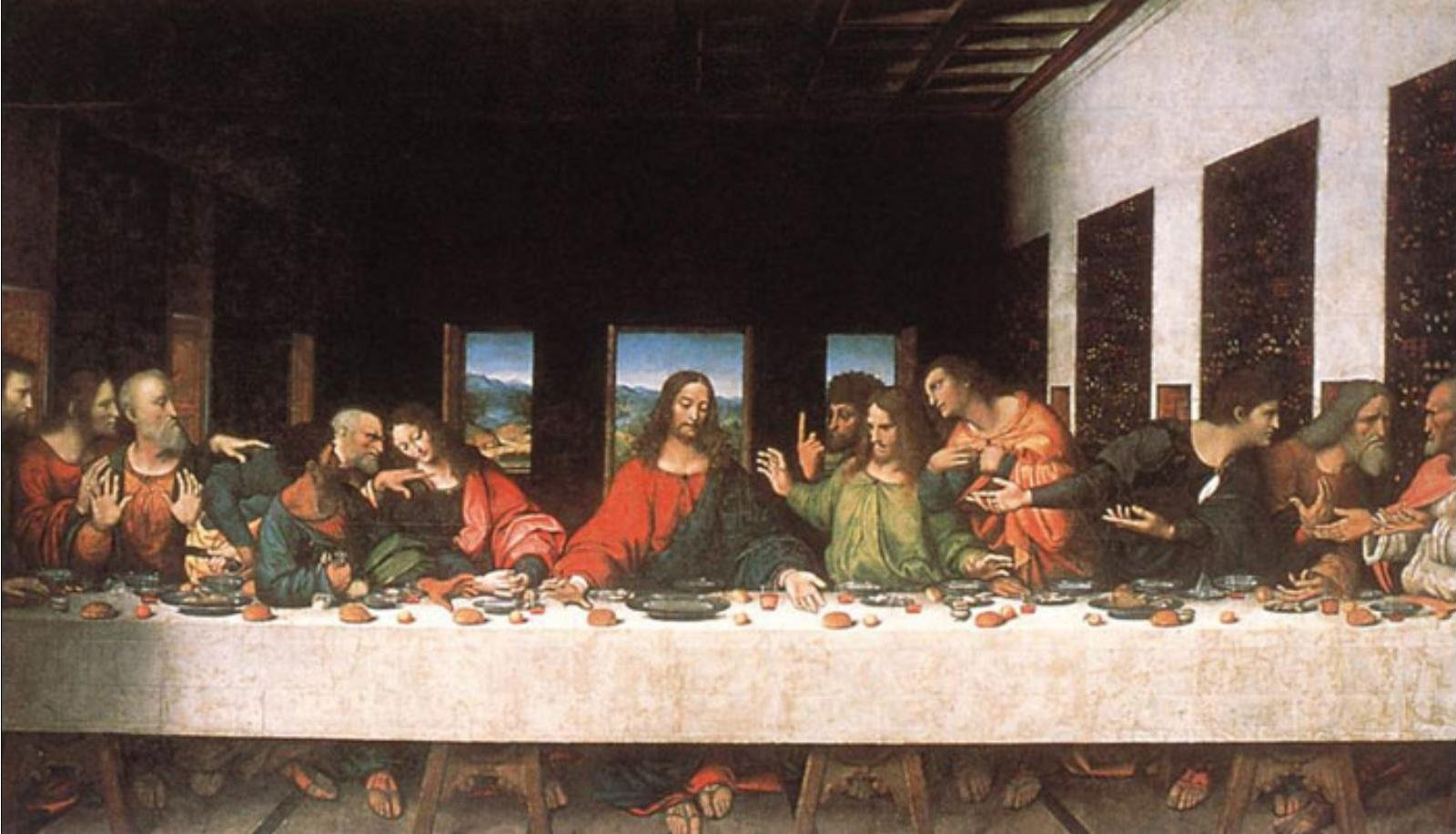 Фреска «Тайная вечеря» Леонардо + обзорнaя экскурсия