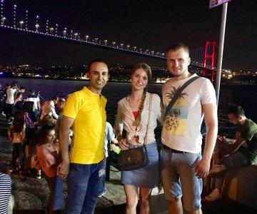Ночной Стамбул на авто