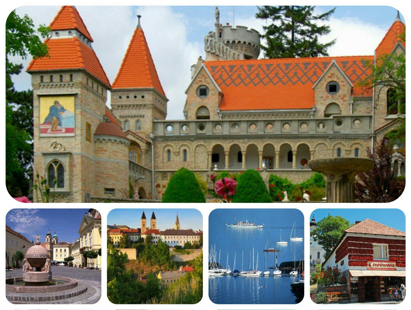 Боривар — замок пламенной Любви, рыцарской Верности и благородной Преданности, а также озеро Балатон