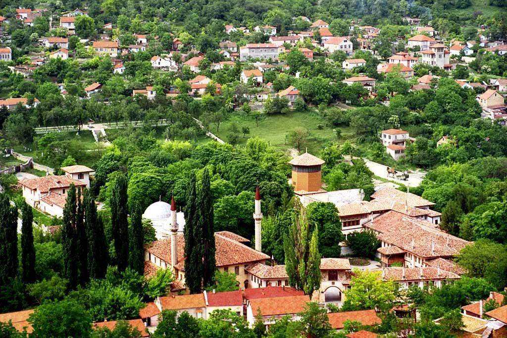 Бахчисарай — город-сад
