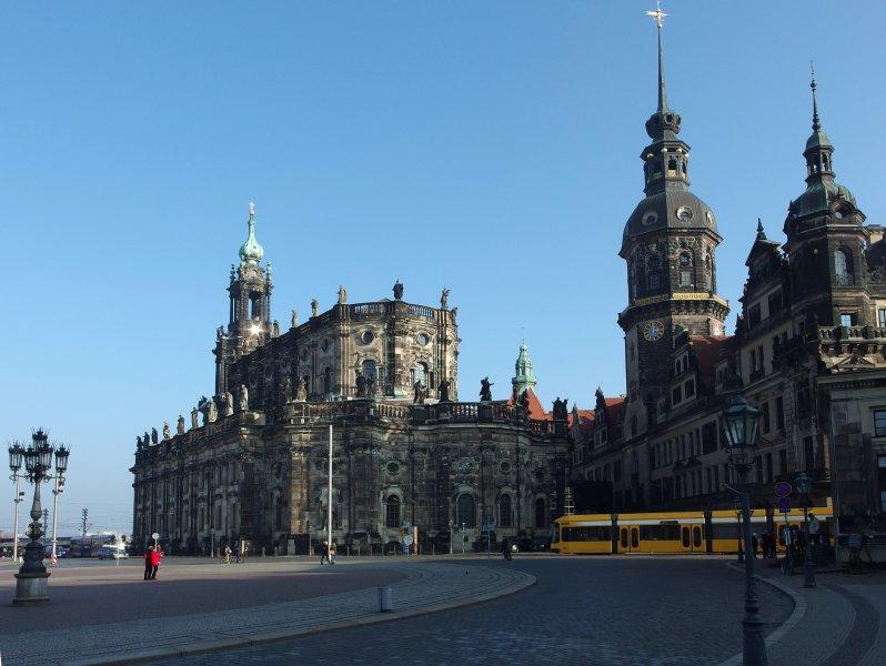 Встреча на Эльбе-2, сборная пешая экскурсия по Дрездену
