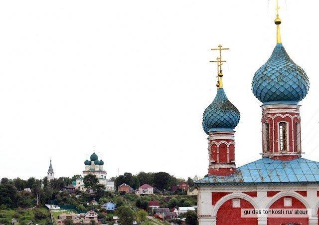 Тутаев из Ярославля одним днём