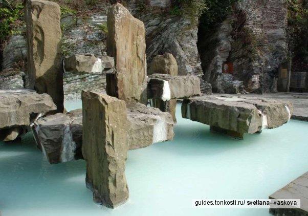 Мацеста Змейковские водопады